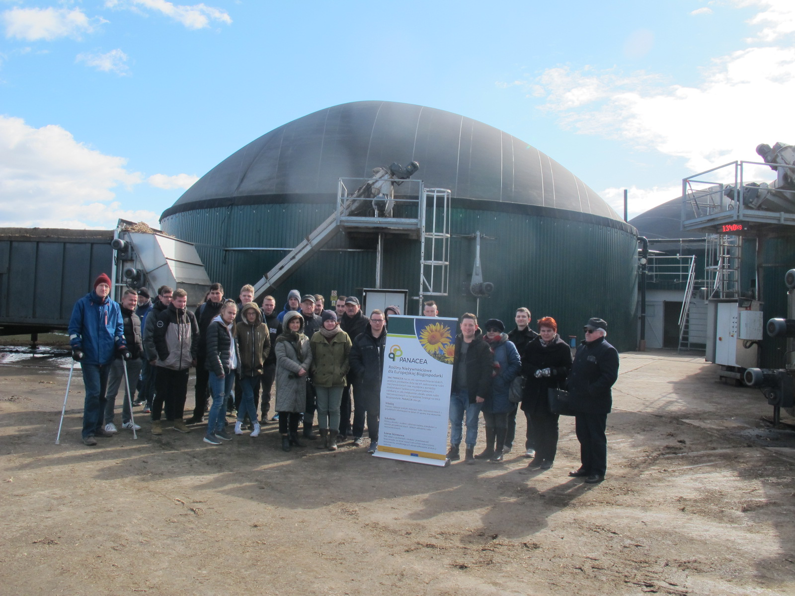 Demonstration day in an agricultural biogas plant – Panacea